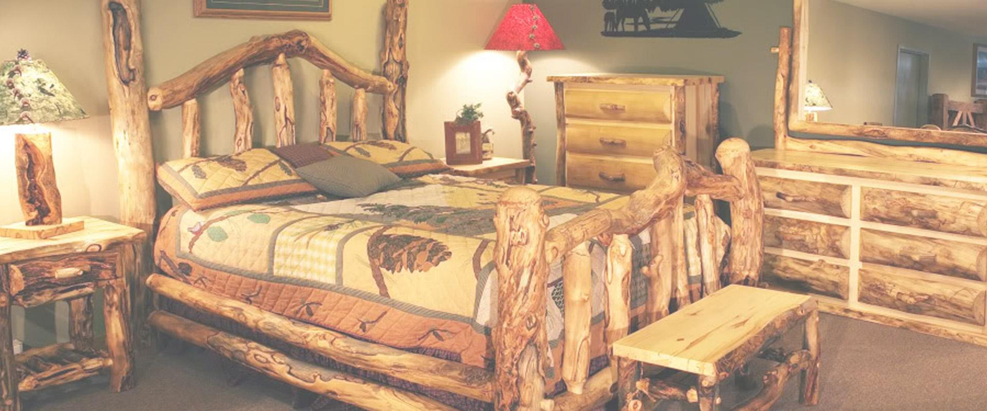 Attirant Blue Ridge Log Furniture